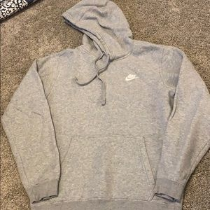 Nike Gray hoodie size small